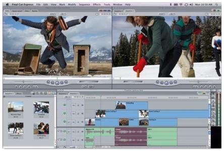 Apple's video editing software