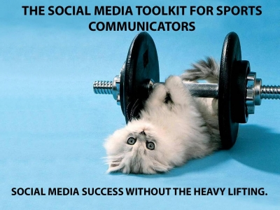 Social media toolkit for sports commentators; social media success without the heavy lifting.