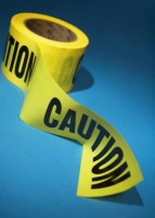 A roll of caution tape.