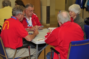 Bridge match at the 2012 Burnaby BC Seniors Games. Photo Credit: BC Seniors Games Society