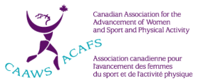 Canadian Association for the Advancement of Women in Sport and Physical Activity logo