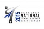 2015 Karate Canada Nationals logo
