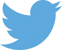 Twitters blue bird logo
