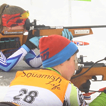 BC Biathlon athletes