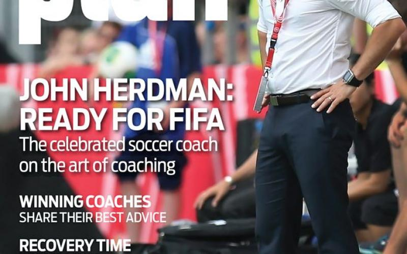 Coaches Plan Magazine Cover May 2015