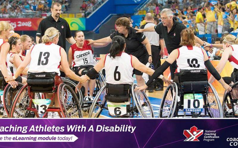 Coaching athletes with a disability