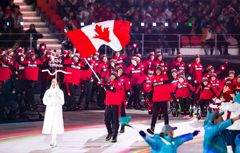 Team Canada at Paralympics