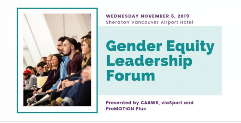 Banner for Gender Equity Forum