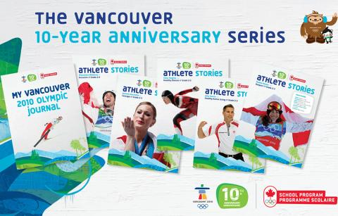 banner for olympic education resources