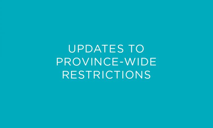 Updates to Restrictions