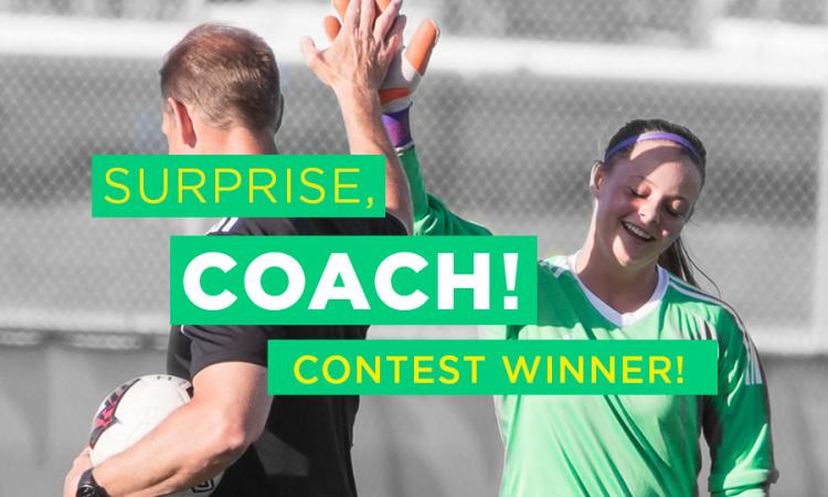 Coaches Week Contest winner