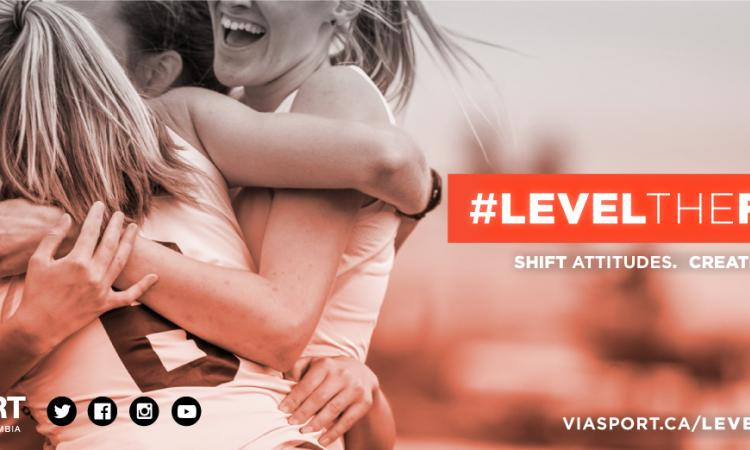 #LevelTheField Web Banner