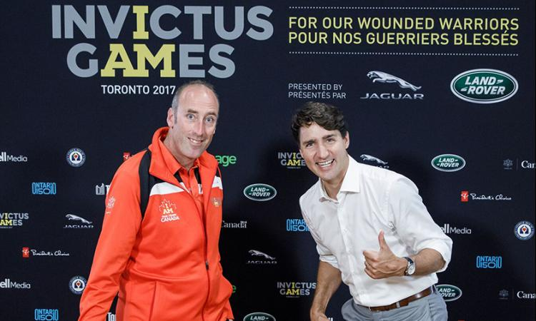 Peter Lawless - Invictus Games