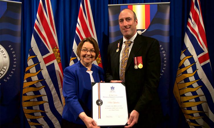 Peter Lawless - Medal of Good Citizenship