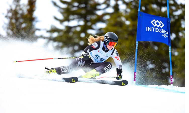 Female ski racer