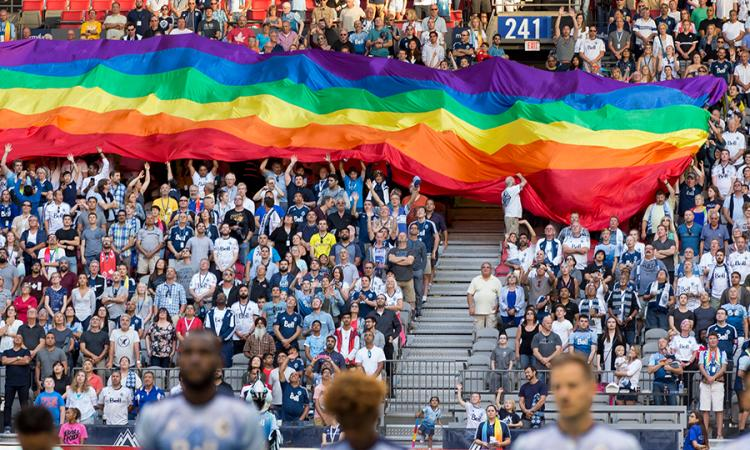 Whitecaps Pride Flag