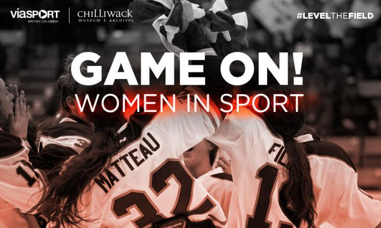 Game On! Women in Sport promotional banner