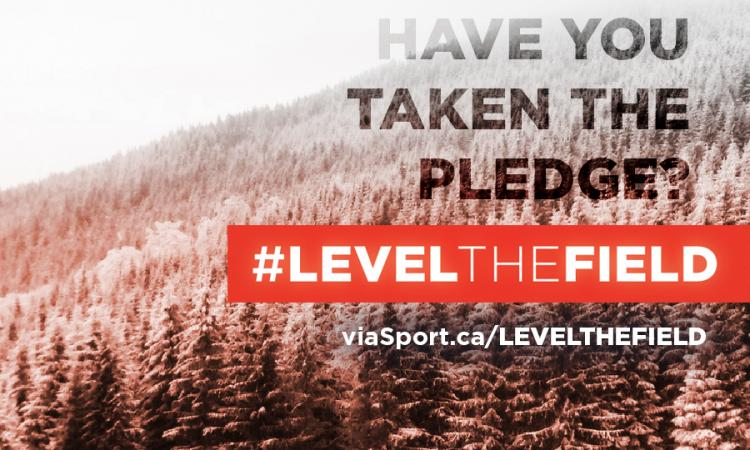 Have you taken the pledge to #LevelTheField?