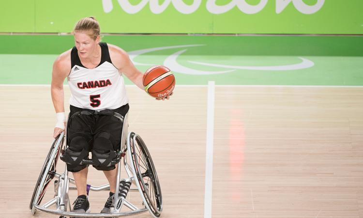 women's wheelchair basketball