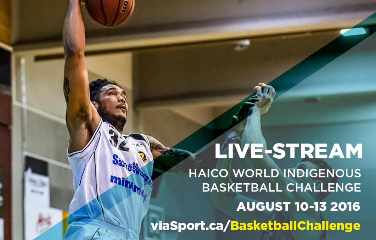 World Indigenous Basketball Challenge live-stream