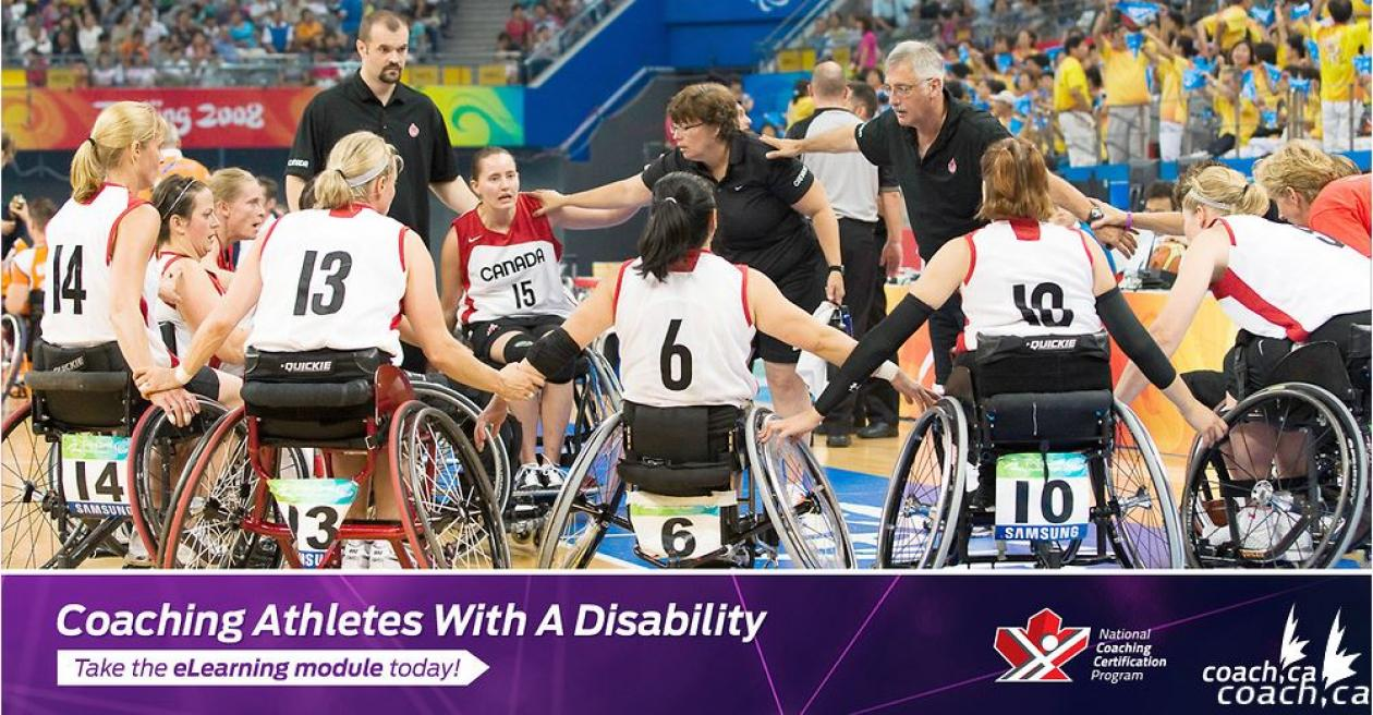 New Nccp Module Coaching Athletes With A Disability Launches Sept