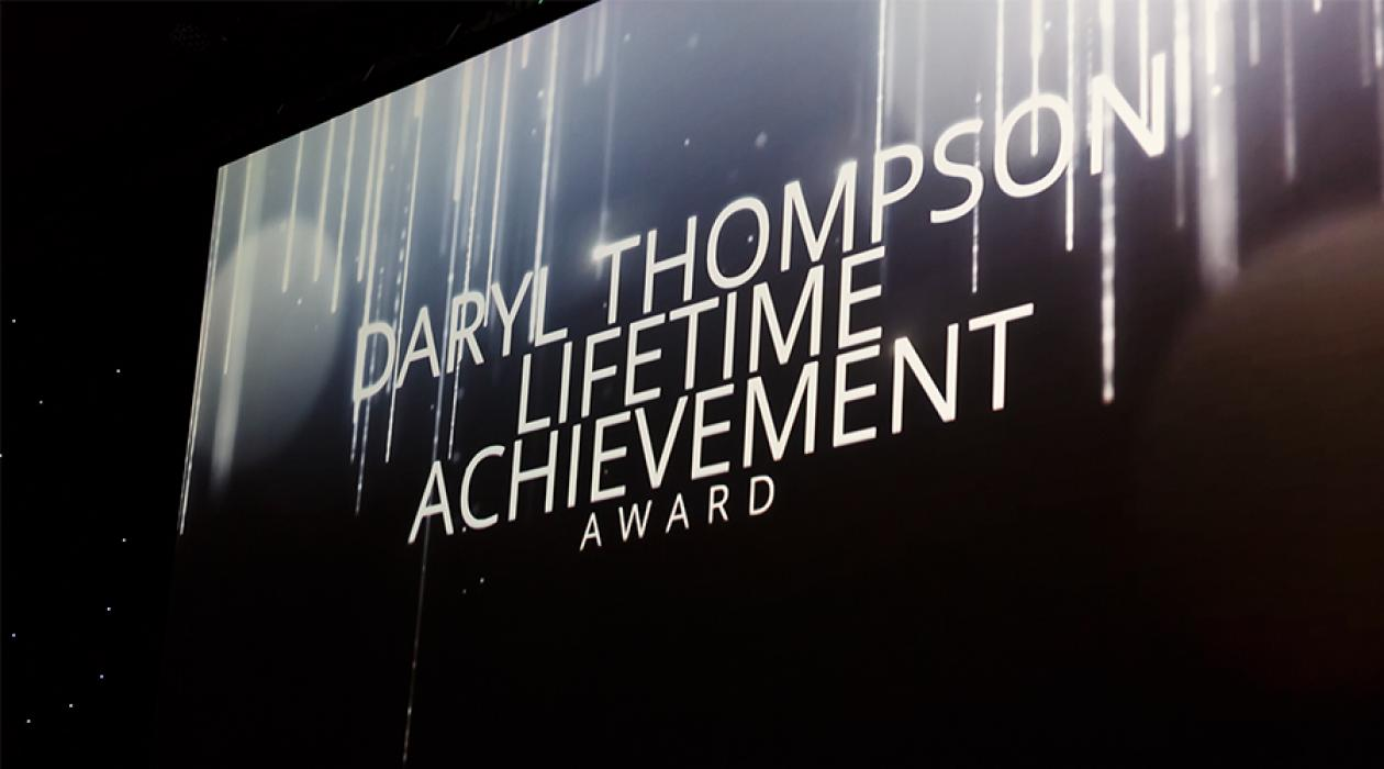 Daryl Thompson Lifetime Achievement Award