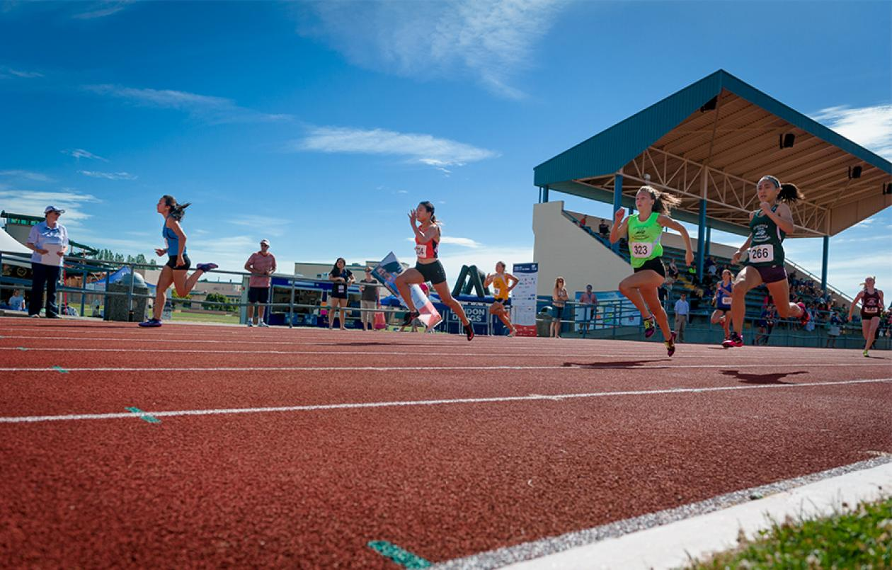 Women - track and field