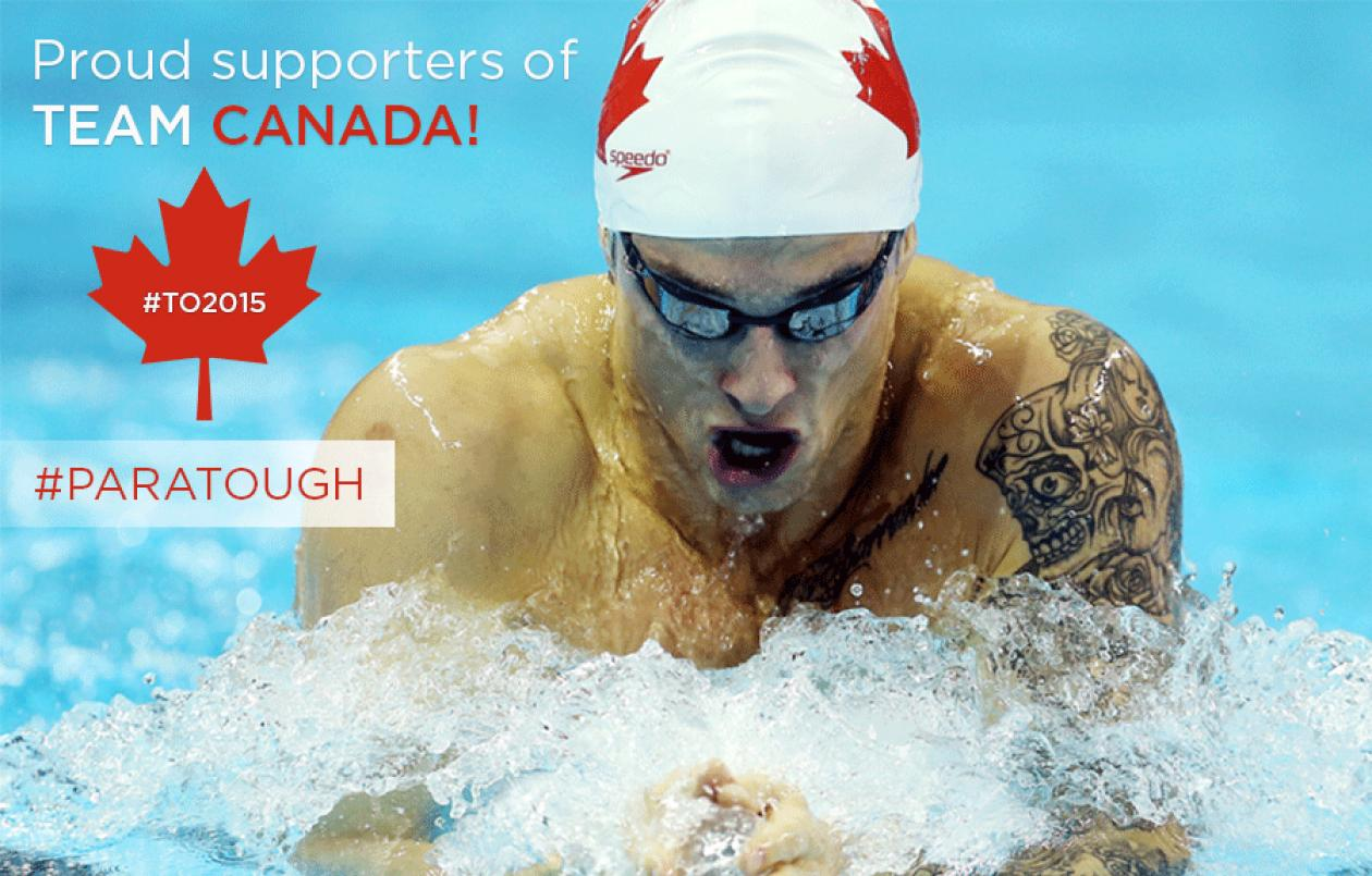 ViaSport are proud supporters of Team Canada